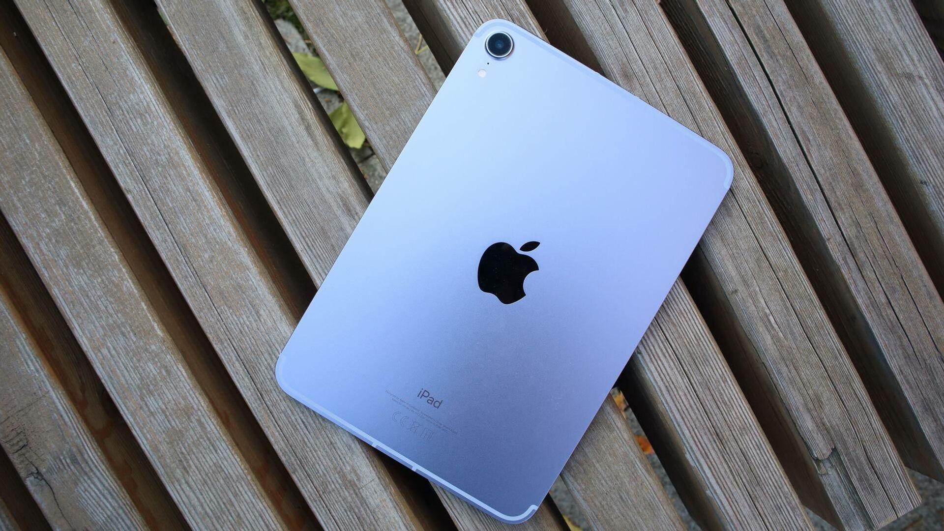 Мощное железо: экспертиза маленького планшета iPad mini 6 от Apple