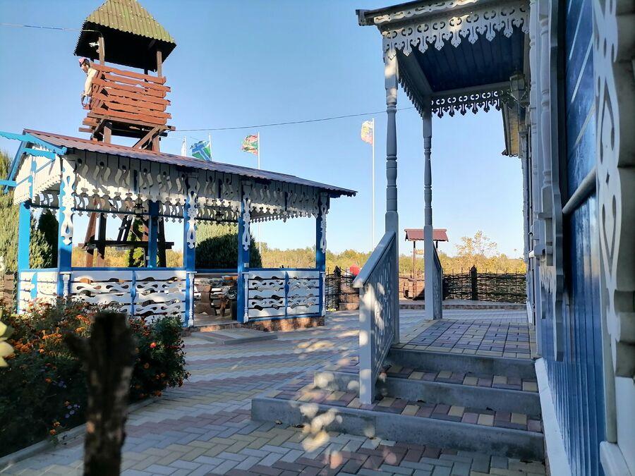 Вид на территории Казачьей пристани