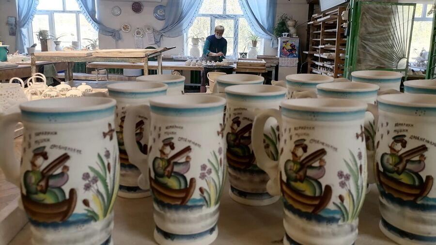 Изделия из семикаракорской керамики