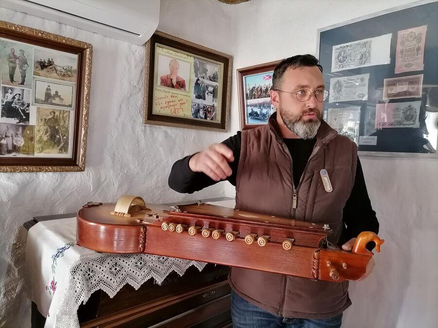 Экскурсия в музее Тихий Дон на хуторе Старозолотовский
