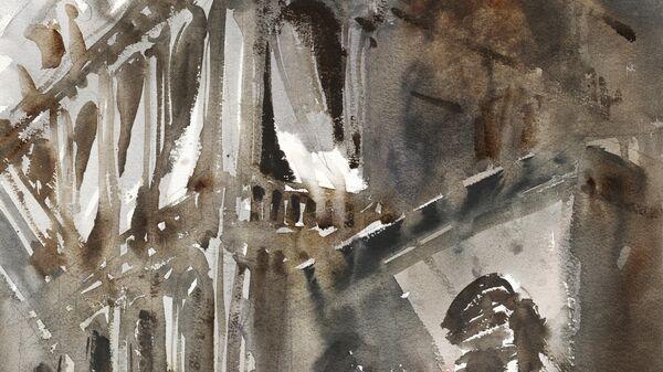 Картина Сергея Кузнецова Солнце и ветер в Венеции