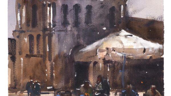 Картина Сергея Кузнецова Церковь Сан Дзаккария, Венеция