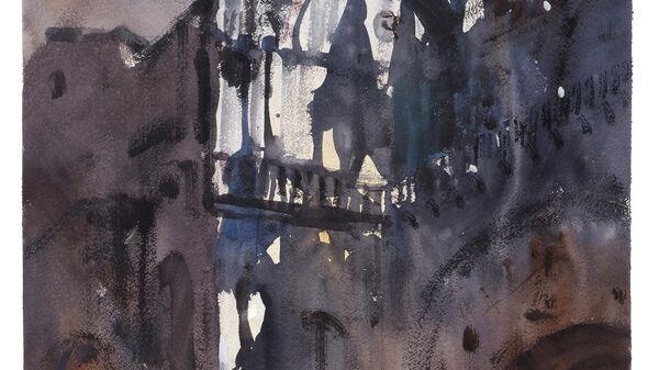 Картина Сергея Кузнецова Собор Сан Марко, Венеция