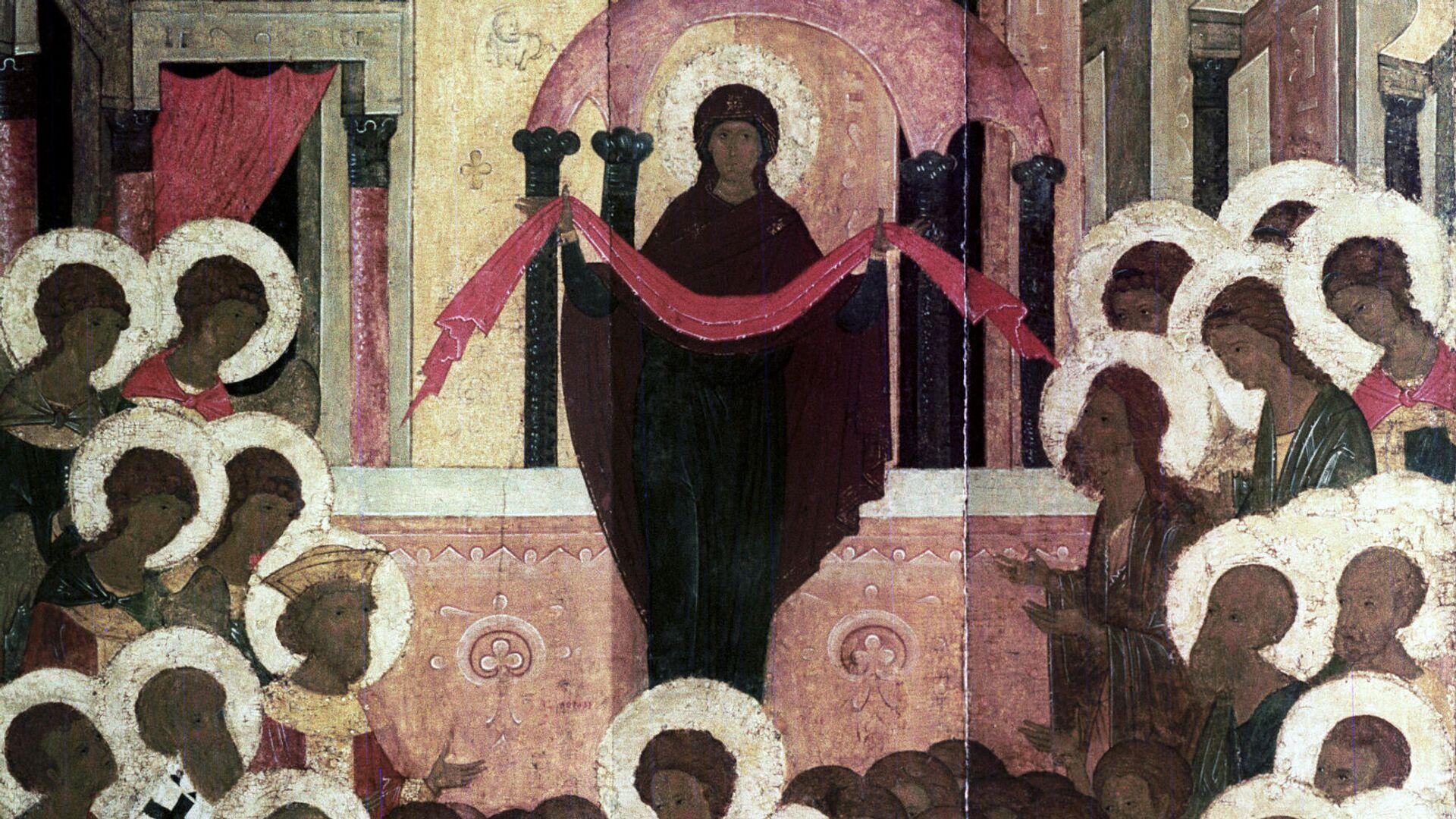 Икона Покров Пресвятой Богородицы  - РИА Новости, 1920, 14.10.2021