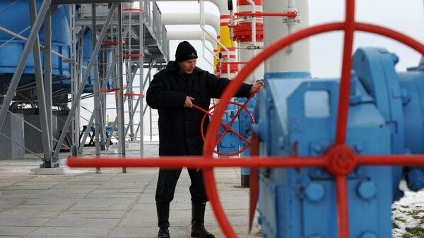 Работник газовой компании Нафтогаз
