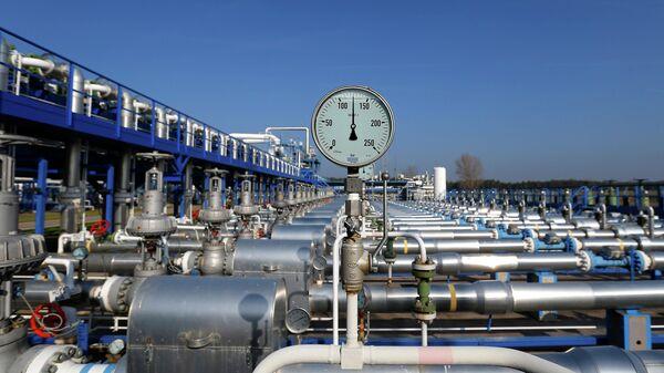 Газохранилище венгерской государственной энергетической группы MVM