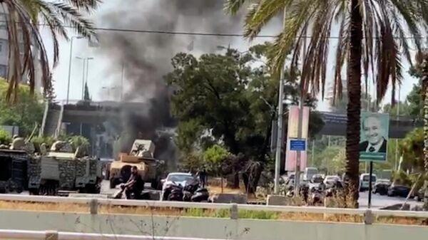 Стрельба в Бейруте: военные стягивают бронетехнику