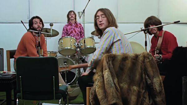 Кадр из трейлера к фильму The Beatles: Get Back
