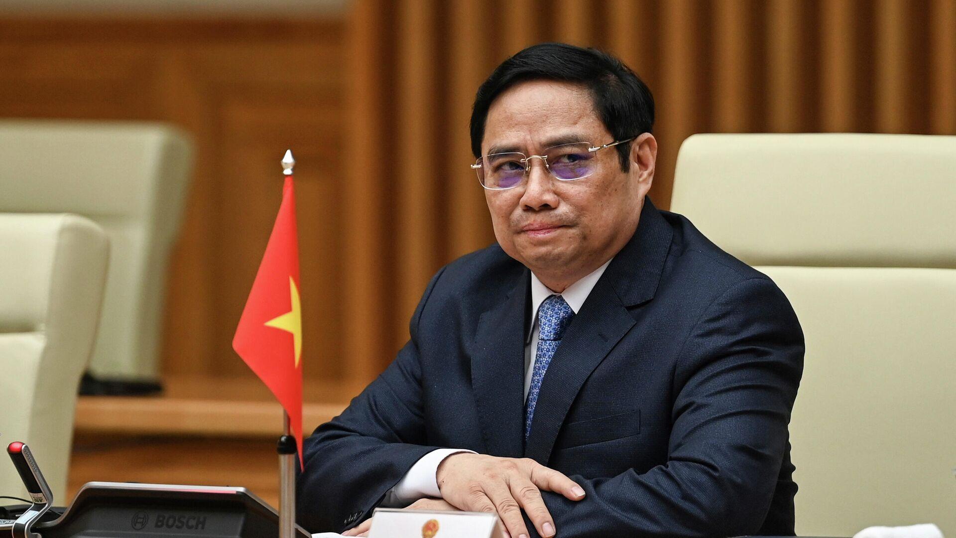 Премьер-министр Вьетнама Фам Минь Тинь - РИА Новости, 1920, 14.10.2021