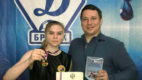 Чемпионка России по панкратиону Ирина Рыбникова