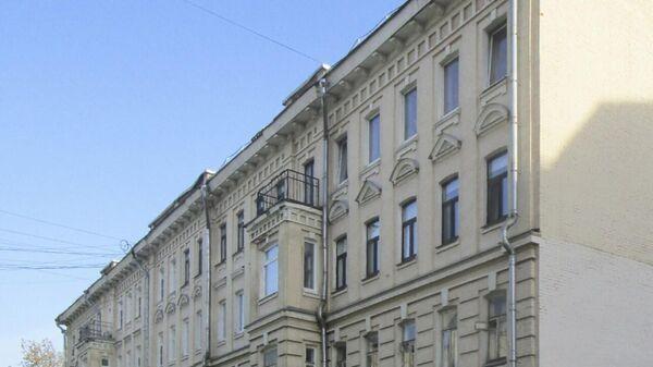 Дом конца XIX века в Малом Харитоньевском переулке