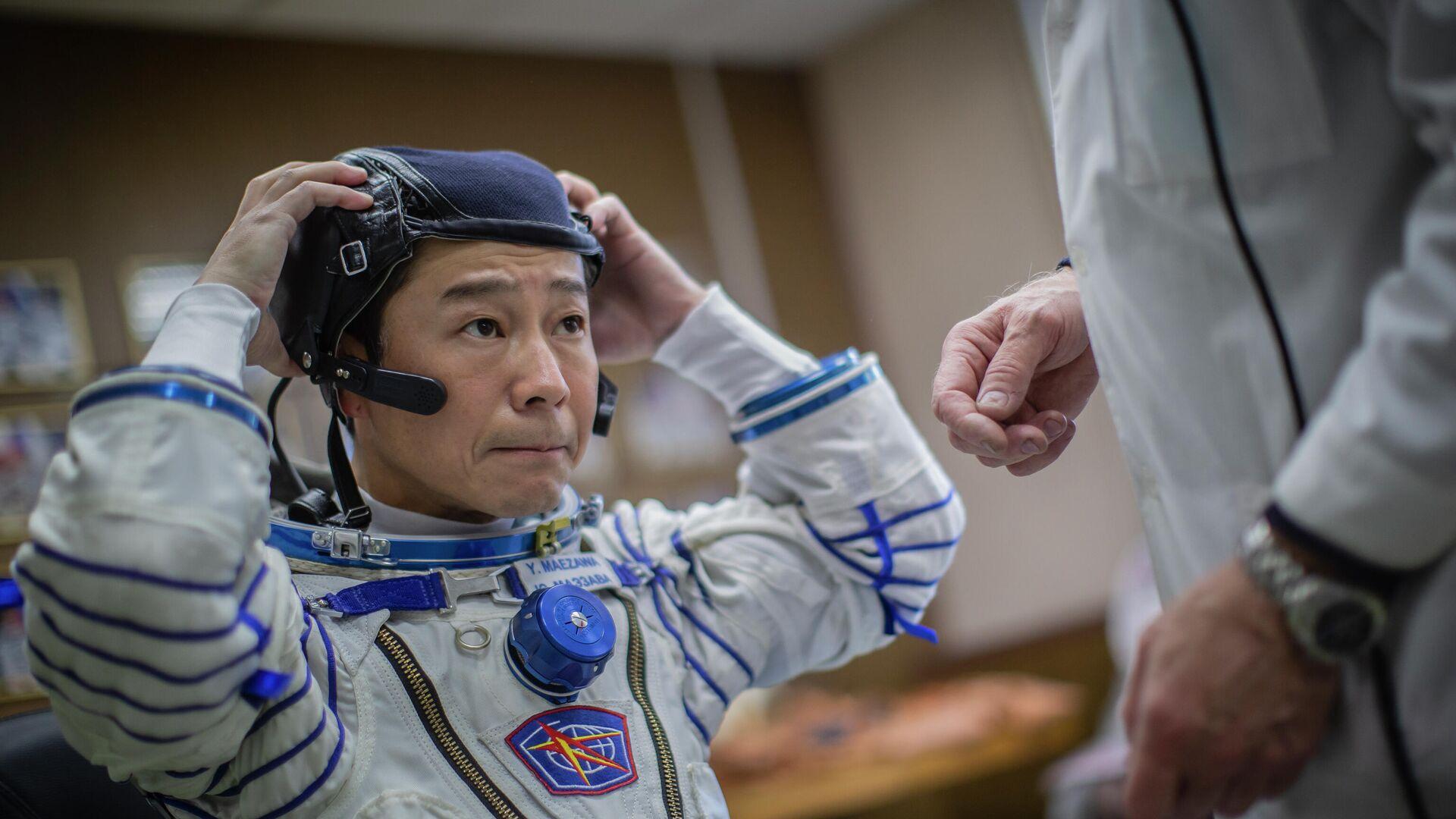 1754633865 0:95:3072:1823 1920x0 80 0 0 ef3cbadb0345a5643734a05f173cb611 - Летящий на МКС японский турист Маэдзава восхитился российским скафандром