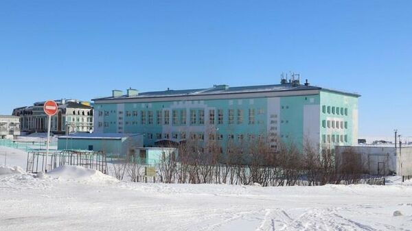 Школа в городе Анадырь