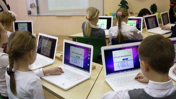 Урок информационных технологий в школе №1247