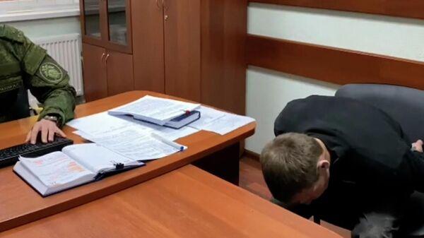 Кадры задержания сбежавшего из колонии Ульяновской области