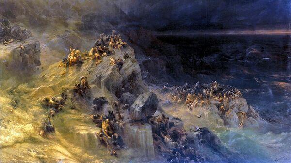 Картина Ивана Айвазовского Всемирный потоп