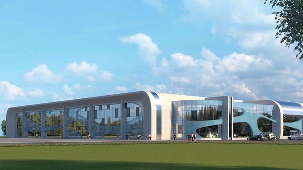 Проектное решение Дворца водных видов спорта в Иванове