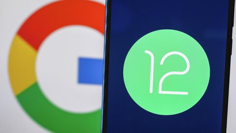 Логотип системы Android 12