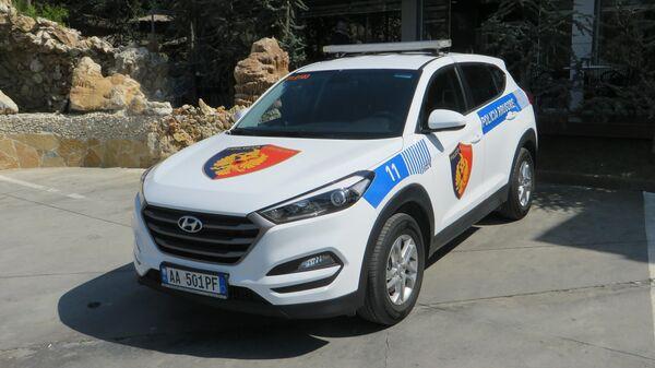 Автомобиль полиции Албании