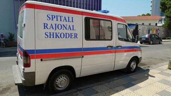Автомобиль скорой помощи в Албании