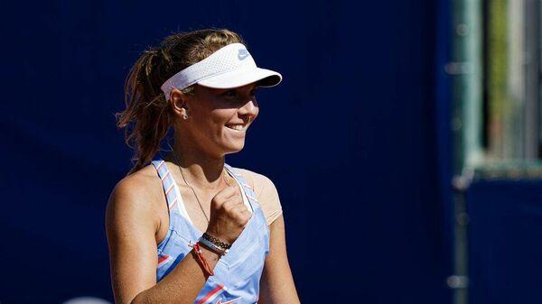 Российская теннисистка Оксана Селехметьева