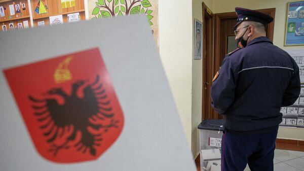Сотрудник полиции Албании