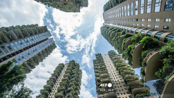 Экспериментальный проект зеленого жилья в городе Чэнду на юго-западе Китая