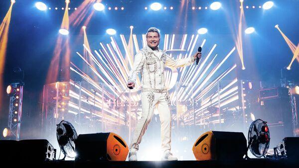 Басков на сцене