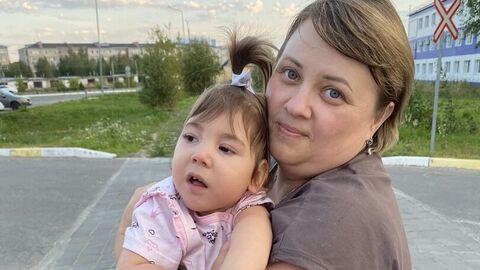 Оксана с дочерью