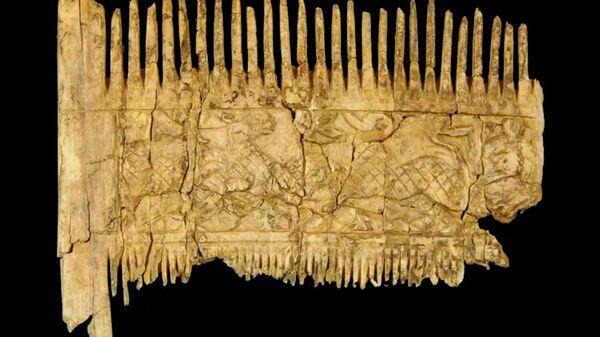 Гребень, найденный во время археологических раскопок в Баварии
