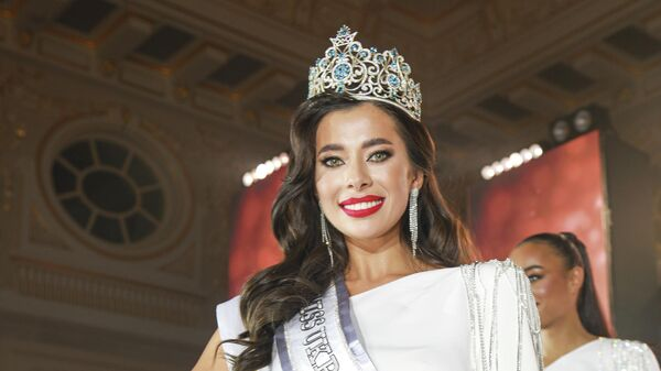 Победительница украинского конкурса Мисс Вселенная Анна Неплях