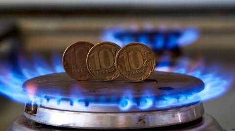 Монеты номиналам десять рублем на газовой плите