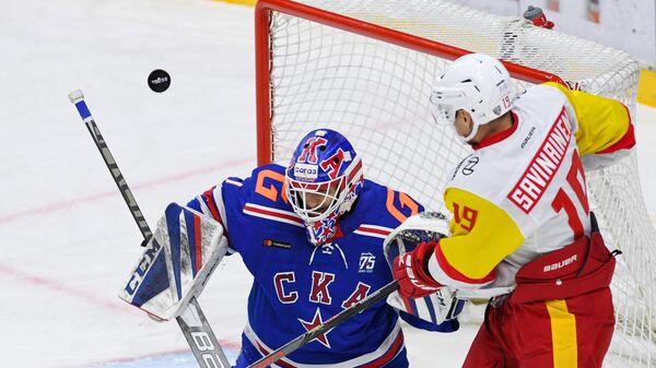 Хоккей. КХЛ. Матч СКА - Йокерит