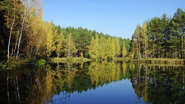 Суворовские карьеры, озеро Штаны