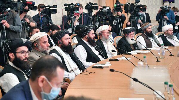 Представители политического совета движения Талибан*