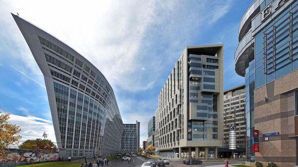 Проект комплекс с апартаментами и офисами у Киевского вокзала в Москве