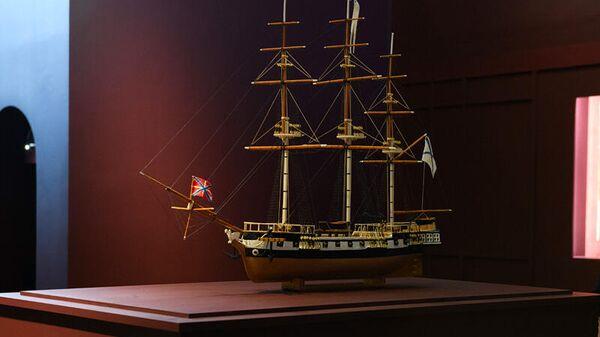 Экспедиционный шлюп Нева, автор модели Ю. В. Стадник, вторая половина XX века