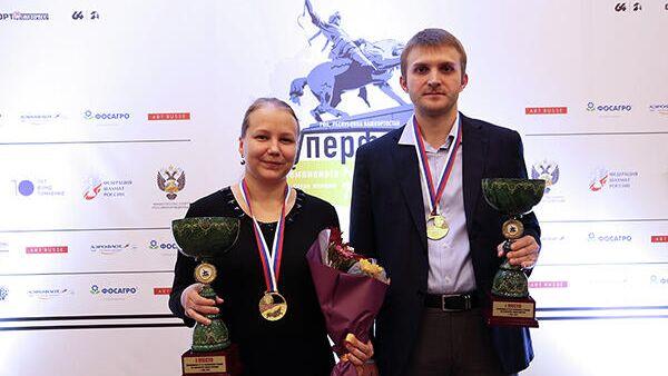 Валентина Гунина и Никита Витюгов