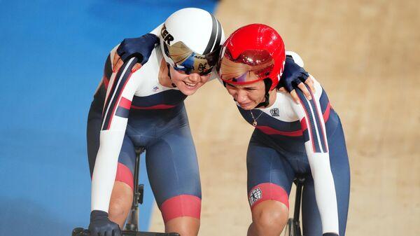Олимпиада-2020. Велоспорт. Трек. Женщины. Мэдисон