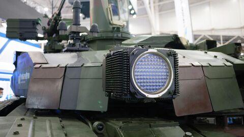 Танк БМ Оплот на военной выставке в Киеве