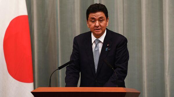 Министр обороны Японии Нобуо Киси