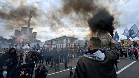 Марш националистов в честь Дня защитника Украины