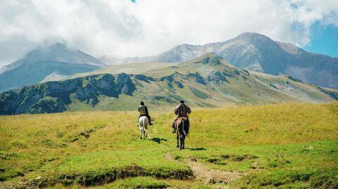 Конные прогулки в Адыгее