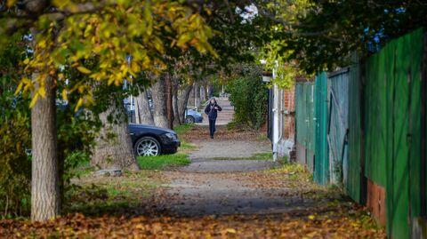 Подросток на улице