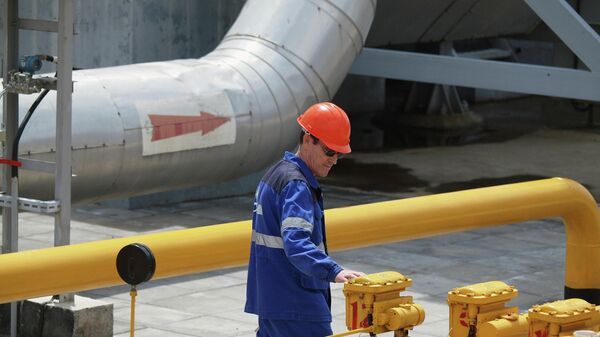 Комплекс транспортировки экспортного газа КС Краснодарская.