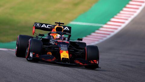 Макс Ферстаппен на Гран-при США Формулы-1