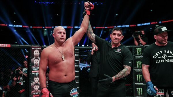 Федор Емельяненко против Тимоти Джонсона на Bellator 269