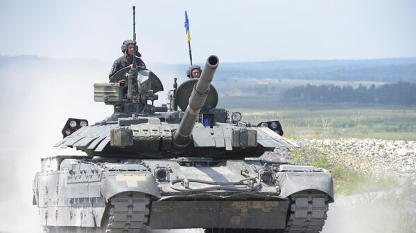 Танк БМ Оплот Вооруженных сил Украины