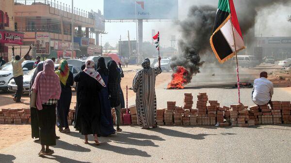 Протесты в Хартуме