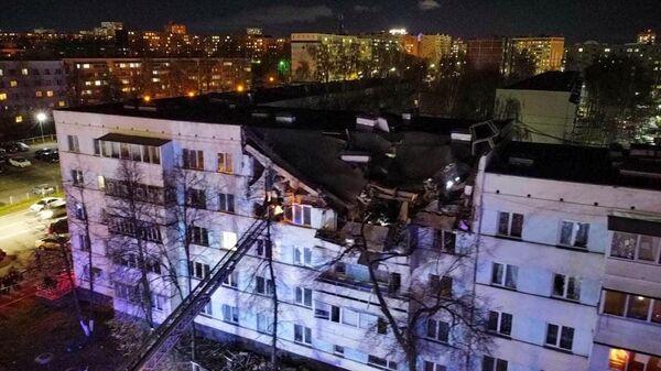 Взрыв в жилом доме в Набережных Челнах
